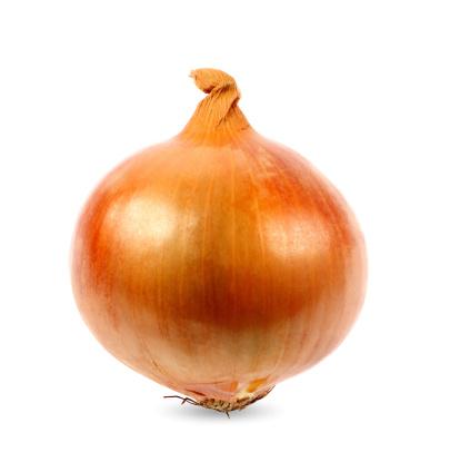 Plant Bulb「Onion on White Background」:スマホ壁紙(14)