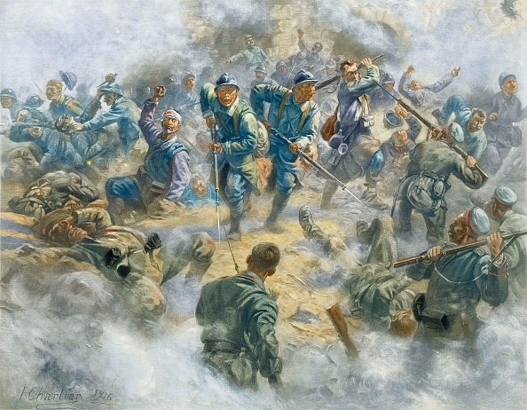 Painting - Activity「The Battle Of Verdun The Recovery Of Fort Douaumont」:写真・画像(11)[壁紙.com]