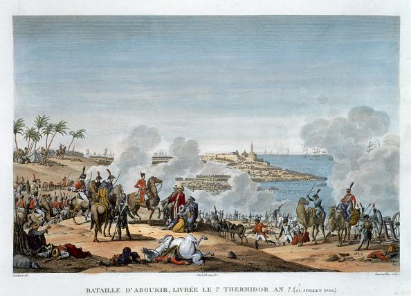 Etching「The Battle Of Aboukir 7 Thermidor Year 7' (25 July 1799)」:写真・画像(5)[壁紙.com]
