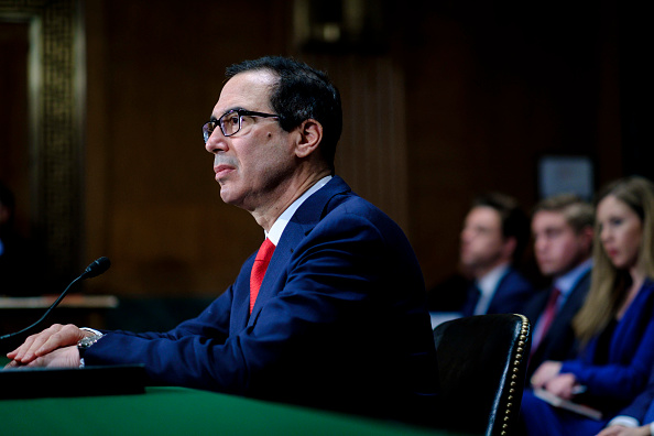 Treasury - Finance and Government「Treasury Secretary Mnuchin Delivers Financial Stability Report To Senate Committee」:写真・画像(16)[壁紙.com]