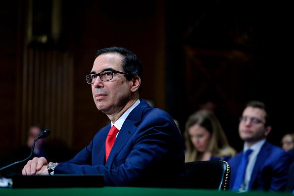 Treasury - Finance and Government「Treasury Secretary Mnuchin Delivers Financial Stability Report To Senate Committee」:写真・画像(14)[壁紙.com]