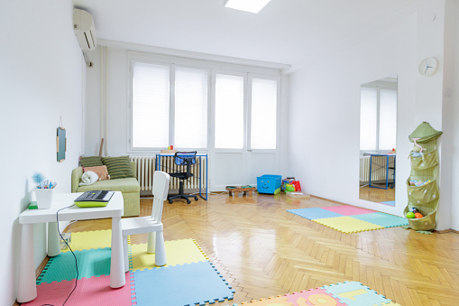 Art「Playroom in educational facility」:スマホ壁紙(1)