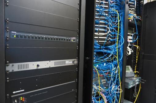 Data Center「USA, New York, New York City, Computer network server」:スマホ壁紙(14)