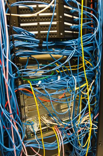 Data Center「USA, New York, New York City, Computer network server」:スマホ壁紙(13)