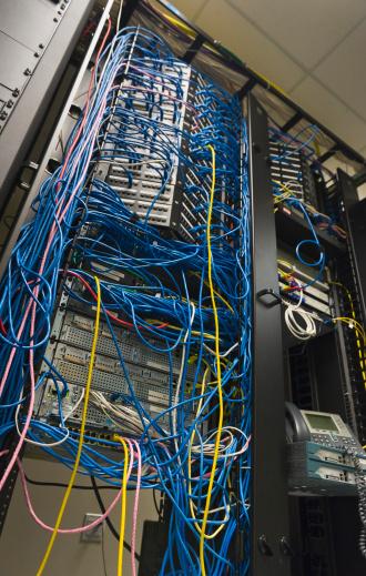 Data Center「USA, New York, New York City, Computer network server」:スマホ壁紙(15)