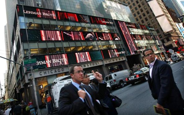 Crisis「Lehman Brothers Reports Close To 4 Billion Dollar Quarterly Loss」:写真・画像(15)[壁紙.com]