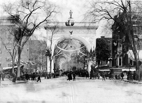 1880-1889「Washington Square Arch」:写真・画像(9)[壁紙.com]