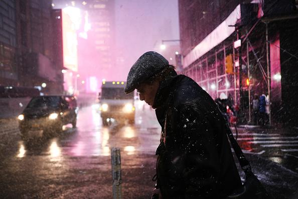 Cold Temperature「Winter Storm Brings Ice, Snow, And Rain Through Northeast」:写真・画像(18)[壁紙.com]