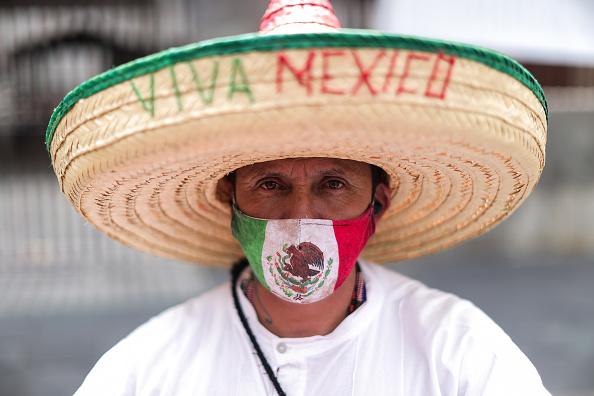 Mexico「Mexico Independence Day Celebrations Amid Coronavirus Pandemic」:写真・画像(11)[壁紙.com]