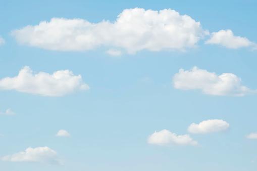 Cumulus Cloud「Pale Sky Backdrop」:スマホ壁紙(15)