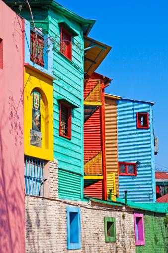 Buenos Aires「Painted buildings La Boca」:スマホ壁紙(6)