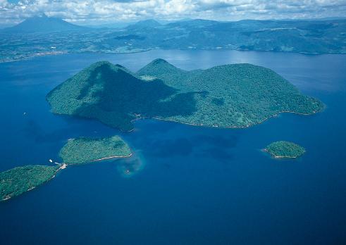 Hokkaido「Lake Toya and Nakashima」:スマホ壁紙(13)