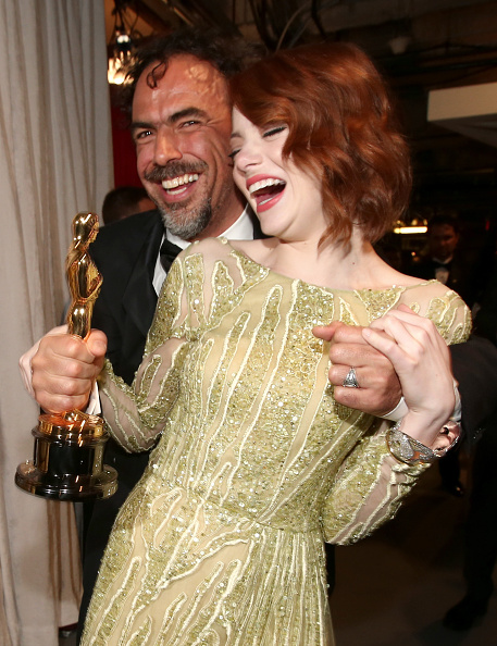 Emma Stone「87th Annual Academy Awards - Backstage And Audience」:写真・画像(4)[壁紙.com]