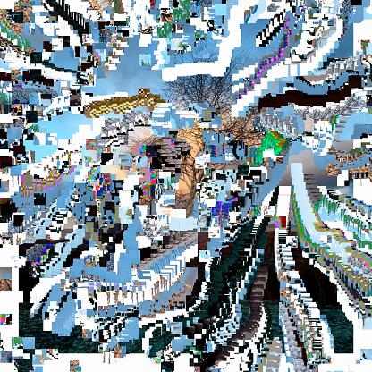 Destruction「Corrupted Digital Image」:スマホ壁紙(16)