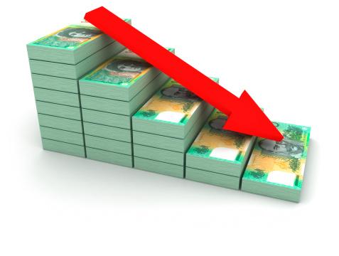 Deterioration「Decreasing value of Australian Dollar.」:スマホ壁紙(13)