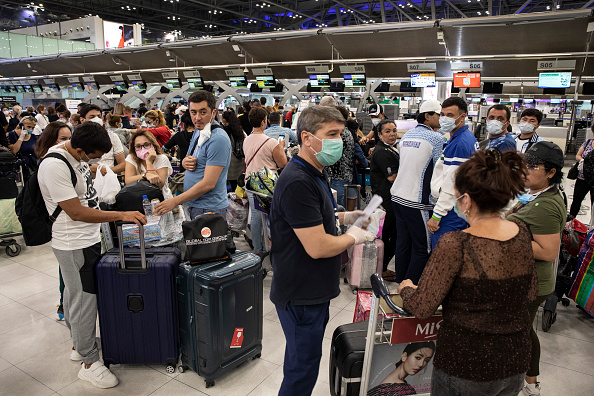 Tourist「Travel Restrictions Imposed To Contain Spread Of The Coronavirus」:写真・画像(6)[壁紙.com]