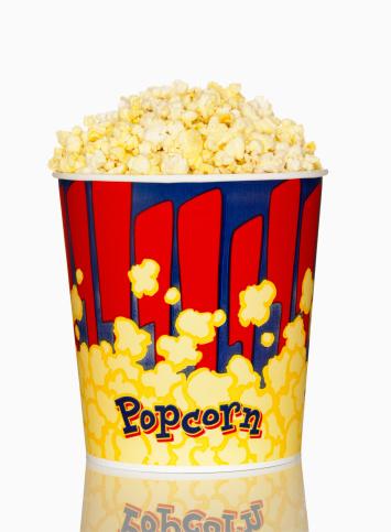 Unhealthy Eating「Large Bucket of Movie Popcorn」:スマホ壁紙(13)