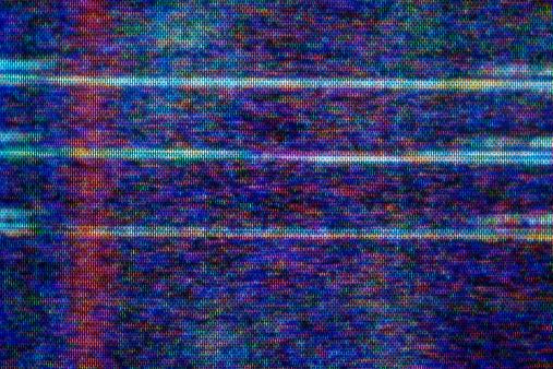 Chaos「Close-up of television static」:スマホ壁紙(5)