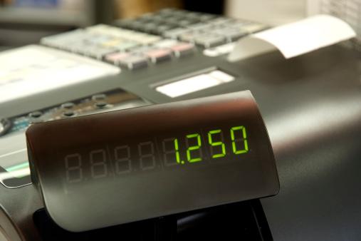 Number「Close-up of Cash Register」:スマホ壁紙(15)