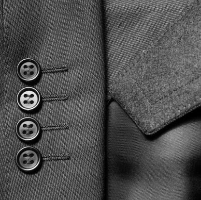 Sewing「Close-up of Suit Jacket Buttons」:スマホ壁紙(10)