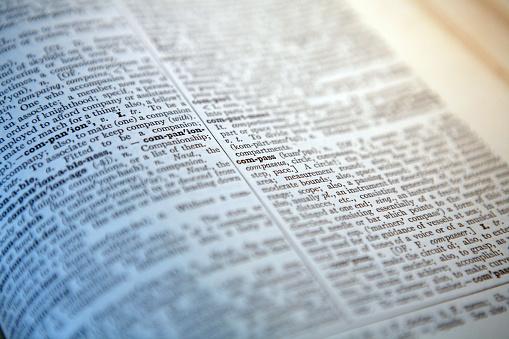Text「Closeup of Dictionary」:スマホ壁紙(0)