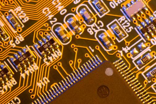 Soldered「Close-up of circuit board」:スマホ壁紙(3)