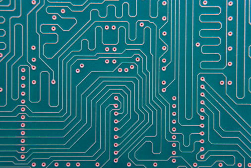 Mother Board「Close-Up Of Circuit Board」:スマホ壁紙(11)