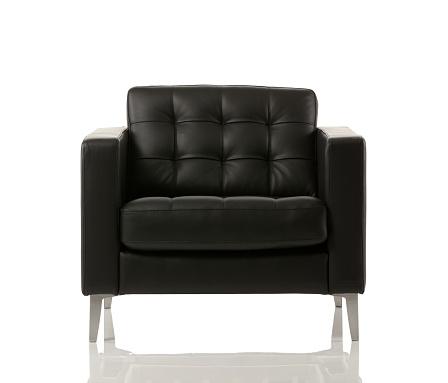 Black Color「Close-up of an empty armchair」:スマホ壁紙(1)