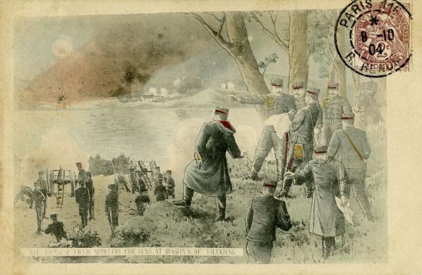 Spilling「Japanese firing on Russian forces near Yalu Jiang」:写真・画像(7)[壁紙.com]