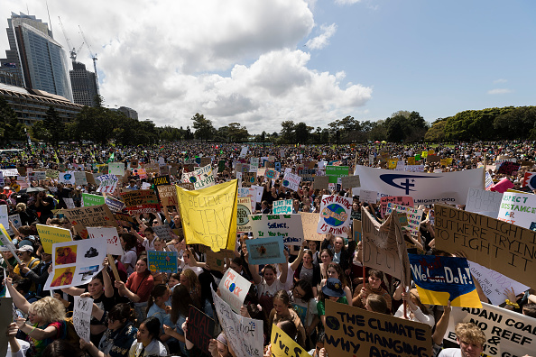 Sydney「Australians Rally For Climate Action As Part Of Global Climate Strike」:写真・画像(10)[壁紙.com]