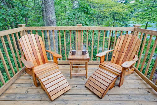 Deck Chair「Deck chairs and a coffee break (XXL)」:スマホ壁紙(7)