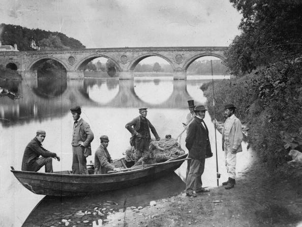 Rural Scene「River Fishermen」:写真・画像(9)[壁紙.com]