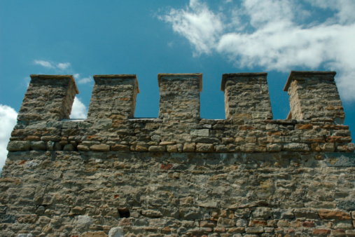 Castle「Ancient castle wall with dents」:スマホ壁紙(9)