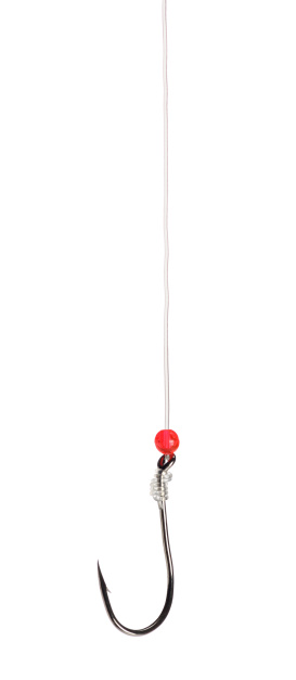 Hook - Equipment「Fishing Hook Isolated on a White Background」:スマホ壁紙(14)