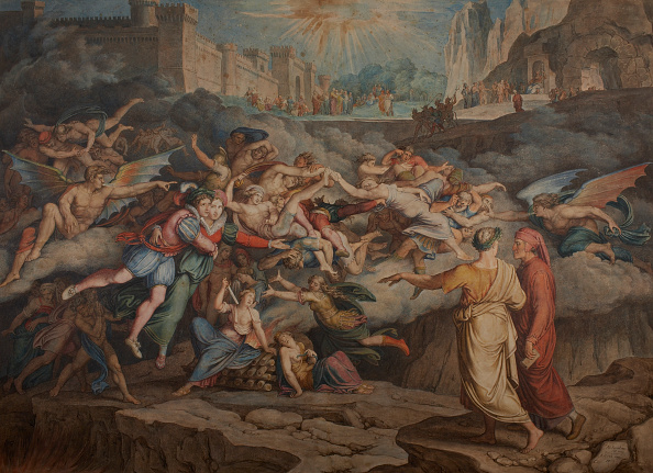 Inferno「Dante And Virgil In The Second Circle Of Hell」:写真・画像(18)[壁紙.com]