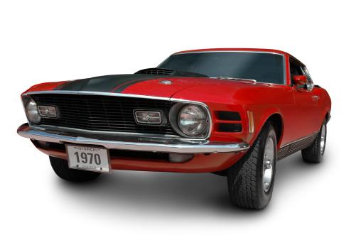 Hot Rod Car「Mustang Mach1 - 1970」:スマホ壁紙(5)