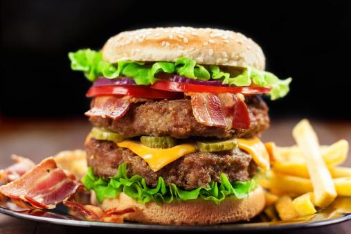 Bacon Cheeseburger「Double Cheeseburger」:スマホ壁紙(8)