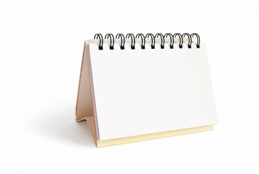 Single Word「Blank desktop calendar」:スマホ壁紙(10)