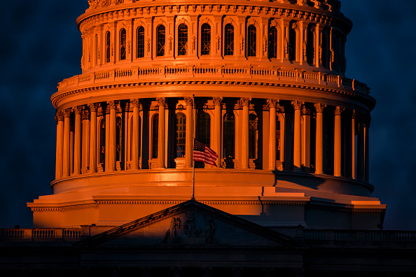 Morning「Protests Expected In Washington DC Ahead Of Biden Inauguration」:写真・画像(14)[壁紙.com]
