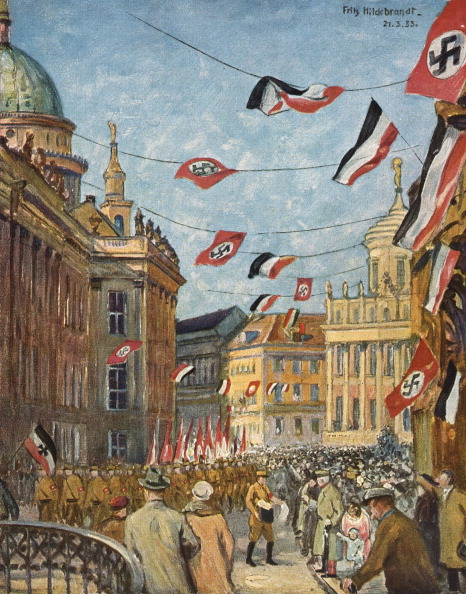 "Third Reich「Adolf Hitler - ""Der Tag von Potsdam"" (The Day of Potsdam), painting by Fritz Hildebrandt.」:写真・画像(12)[壁紙.com]"
