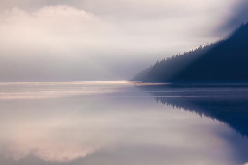 Pastel「lake plansee in the morning」:スマホ壁紙(1)