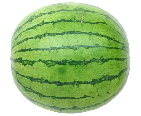 Watermelon「Whole watermelon on white background」:スマホ壁紙(4)