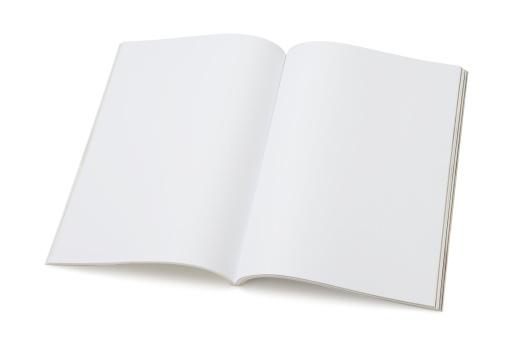Advertisement「Blank page of magazine」:スマホ壁紙(1)
