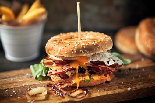 Cheeseburger「Fresh tasty burger」:スマホ壁紙(1)