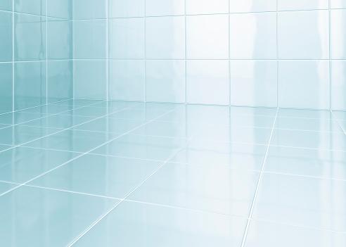 Square Shape「White tiles in bathroom」:スマホ壁紙(16)