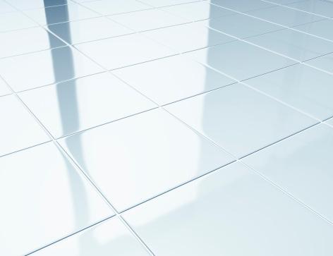 Hygiene「White tiles on a floor in bathroom」:スマホ壁紙(5)