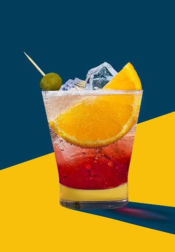 Cocktail「Negroni」:スマホ壁紙(18)