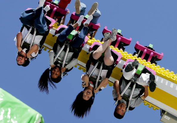 Rollercoaster「The San Diego County Fair Comes to Southern California」:写真・画像(2)[壁紙.com]