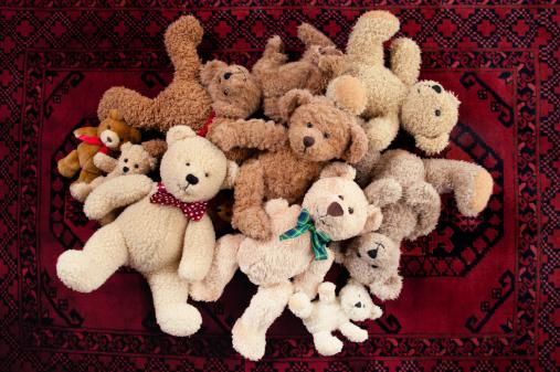 Doll「Teddy Bear Bunch」:スマホ壁紙(14)