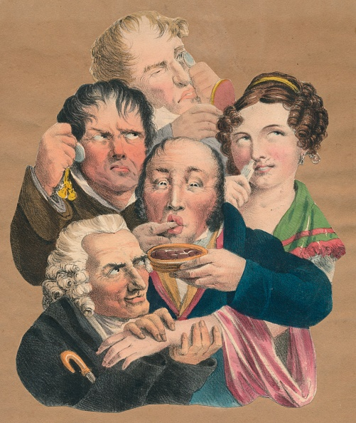 18th Century Style「The Five Senses」:写真・画像(6)[壁紙.com]